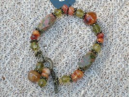 Cookie Lee Semi-Precious Stone Bracelet - Item #89104 - New! - $12.00