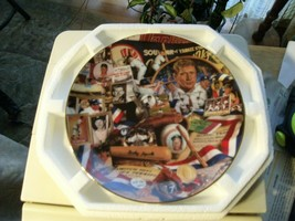 17#10 The Hamilton Collection Mementos Of The Mickey Mantle Collectors Plate - $13.85