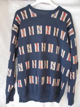Men's Croft & Barrow Multi-color Round Neck Pullover Sweater SZ XLT 100%... - $36.35