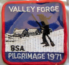 Boy Scouts - 1971 Valley Forge Pilgrimage patch - $9.18
