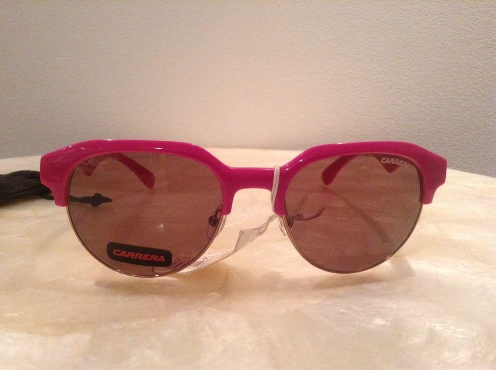 CARRERA 6001 3004 51 19 145 Pink 100% UV/UVB PROTECTION SUNGLASSES UNISEX - $39.60