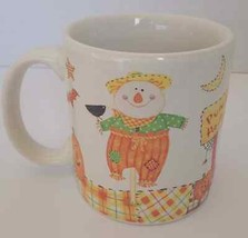 "American Greetings Coffee Mug ""Punkin' Hollow"" Fall Halloween Scarecrow ... - $2.99"
