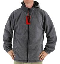 Lax Men's Water Resistant Removable Hood Security Reversible Jacket Black image 8