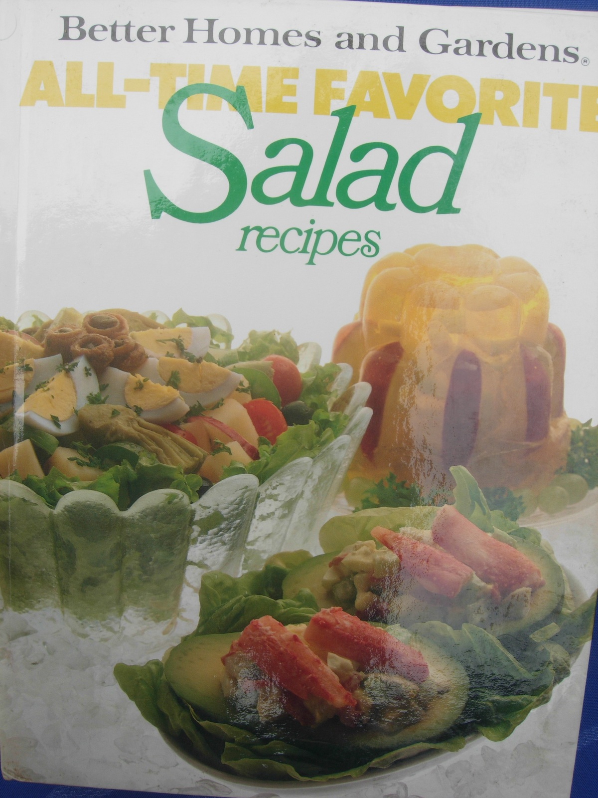 Vintage better homes gardens all time favorite salad Better homes and gardens recipes from last night