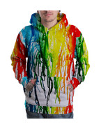 Trippy colorfull dripping design Sublimated 3D ... - $40.99 - $50.99