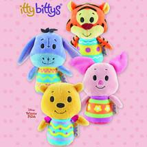 Hallmark itty Bitty bittys Easter Winnie the Pooh, Tigger, Piglet & Eeyo... - $29.99
