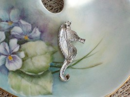 Cookie Lee Seahorse Brooch - Genuine Austrian Crystal, Item #67053 - New! image 3