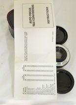 Kalimar 1.4 X M/AF Tele Converter Auto Focus camera lens w/ case & instructions image 4