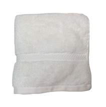 """Hotel Collection Finest Elegance Ivory Face Wash Cloth Towel 13"""" x 13"""" - $7.79"""