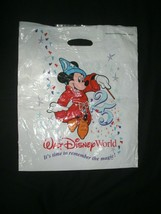 "Walt Disney World 25th Anniversary Park Shopping Bag Vintage 1996 18"" X 15"" - $11.99"