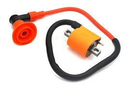 Racing Ignition Coil + Wire + CAP Aprilia Rally 50 coil pack NEW - $28.04