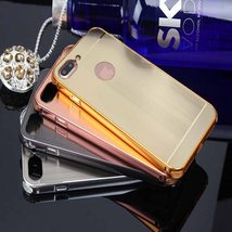 Plating Brushed Shockproof Case Cover for iPhone 7 Plus - $9.00