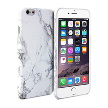 White Marble Pattern prinred Hard Cover for any iPhone - $12.00