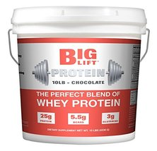 Big Lift Nutrition Protein Supplement, Chocolate, 10 Pound - $79.99