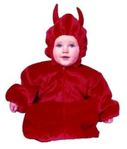 RG Costumes 70135 My Little Devil Bunting Costume - Size 0-6 Months - $26.93