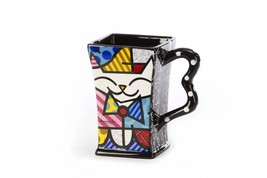 Romero Britto Dolomite Square Cat 14 oz Gift Box  #3303014