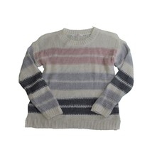 Two By Vince Camuto Women's  Jersey Stripe Sweater, White Size Small - $53.96