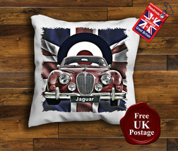 Jaguar MK2 Cushion Cover, Jaguar MK2, Union Jack Cushion, Mod Target, Choose ... - $9.01+