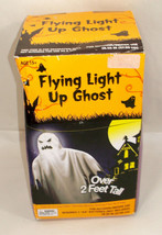 2ft Tall FLYING LIGHT UP GHOST~Halloween Yard Decoration - $49.19