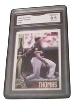 1995 Bowman Frank Thomas GMA Graded 8.5 NM-MT+ baseball card number Sox 351 - $7.75