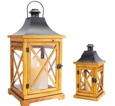 Flameless Candle Lanterns - Awesome Natural Color Candles + Remote - $123.84 CAD