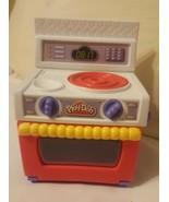 Kitchen Stove Oven 2003 Play-Doh HASBRO, hard plastic, kids pretend toy ... - $34.65