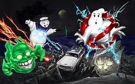 Ghostbusters Ghost Busters Edible Cake Topper Frosting 1/4 Sheet Birthda... - $9.99