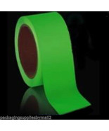 Green Glow in the Dark Tape 2 inch x 10 YDS Luminescent 1 Roll Safety Tape - $37.57