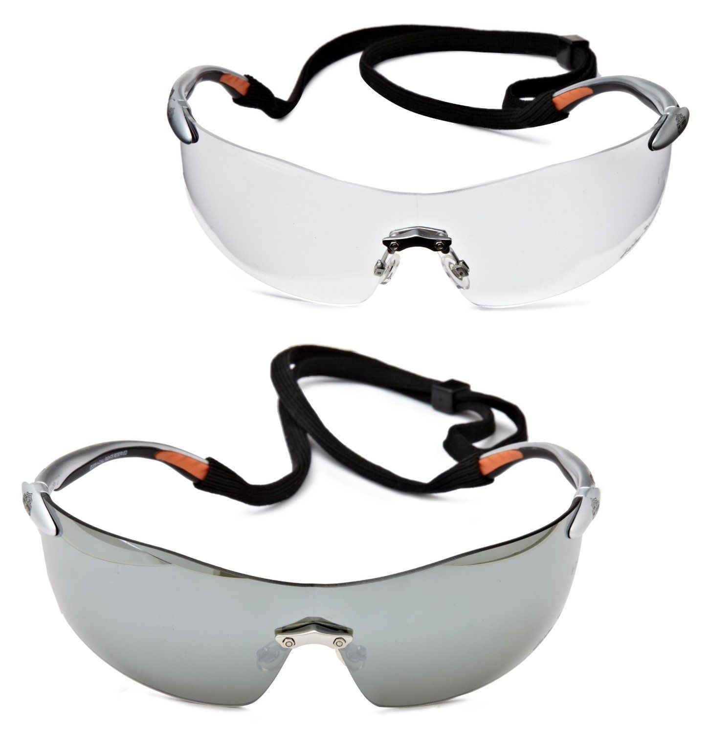 Harley Davidson Eyewear Safety Riding Glasses 2 Pack Set NEW Officially Licensed, used for sale  USA