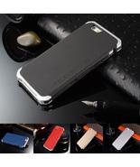 Metal Shockproof Back Case for iPhone 5/5s/SE - $10.00