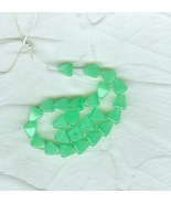 50 Vintage Opaque  Light Green Czechoslovakian ... - $6.00