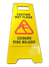 """Generic Wet Floor Sign 25"""" Tall A Frame JS-8100 - $18.00"""
