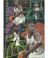 1994-95 Fleer Triple Threats #7 Shaquille O'Neal  - $0.50