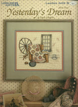 Yesterday's Dream Cross Stitch Embroidery Pattern Leaflet 449 Leisure Arts - $9.99