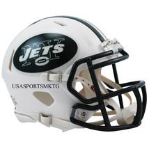 New York Jets Riddell NFL Mini Speed Replica Football Helmet  - $24.20