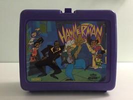 Vtg Hammerman MC Hammer Cartoon lunch box lunchbox 90s Hip Hop Rap Old S... - $29.99