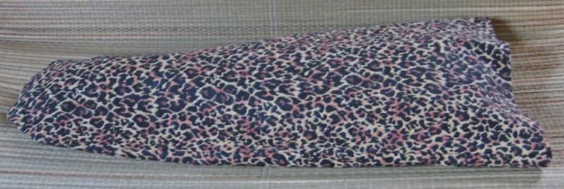 Ukulele Dust Jacket/Soprano Size/Leopard Print