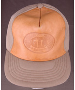 Vtg Grain Trade Australia GTA Hat-Stamped Leather Front-Buckle Back-All ... - $93.49