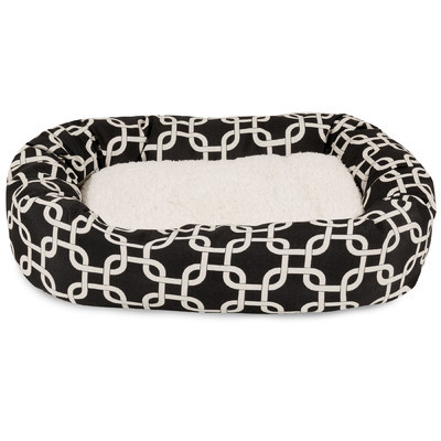 Primary image for Pet Bed Bolster Bagel Dog Cat Supplies Products Play Sleep Accessories Home SALE