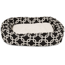 Pet Bed Bolster Bagel Dog Cat Supplies Products Play Sleep Accessories H... - €84,75 EUR+