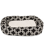 Pet Bed Bolster Bagel Dog Cat Supplies Products Play Sleep Accessories H... - €86,38 EUR+