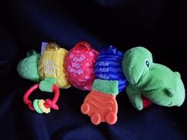 Lamaze Bright Starts Alligator Musical Plus Speaks English Spanish Frenc... - $12.69