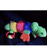 Lamaze Bright Starts Alligator Musical Plus Speaks English Spanish Frenc... - $12.69
