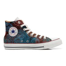Converse shoes Women's hand printed Italian sty... - $143.55