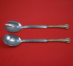 """Old Master by Towle Sterling Silver Salad Serving Set Modern Custom 10 1/2""""  - $149.00"""