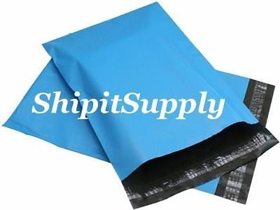 2.5 Mil 1-1000 12x15.5  ( Blue ) Color Poly Mailers Shipping Boutique Bags