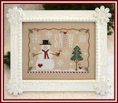 Snow Days cross stitch chart Country Cottage Needleworks - $7.20