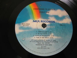 Steely Dan Countdown To Ecstasy MCA ABCX-779 Stereo Vinyl Record LP image 5
