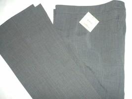 Women's NWT Anne Klein Flared Leg Light Grey Dress Pants Size 4 MSRP $79... - $27.77