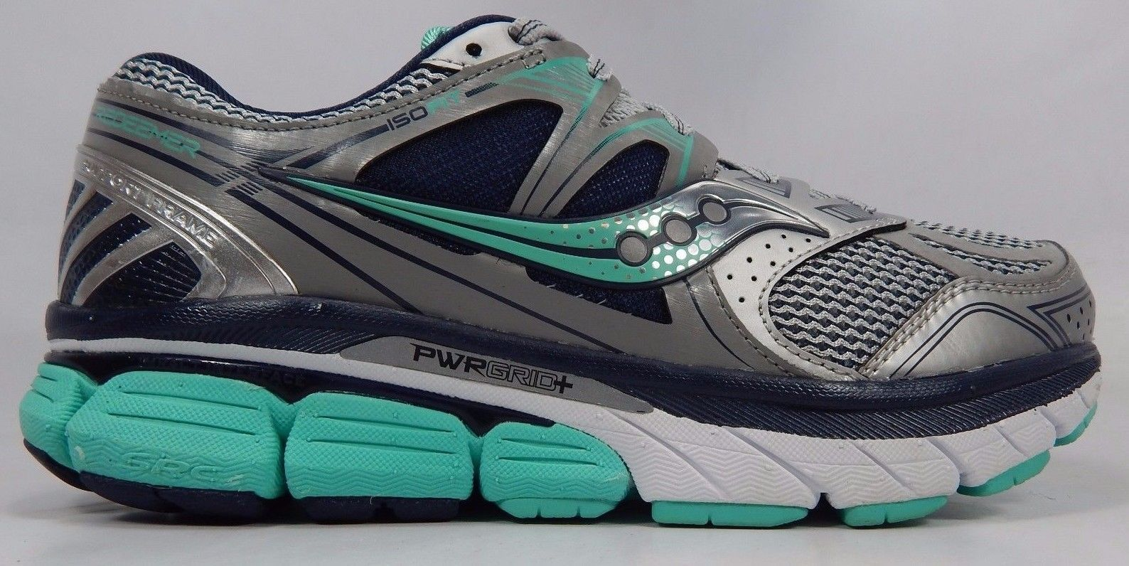 Saucony Redeemer ISO Women's Running Shoes Size US 9 M (B) EU 40.5 Gray S10279 1
